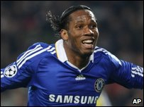 Didier Drogba  (AP Photo/Massimo Pinca)