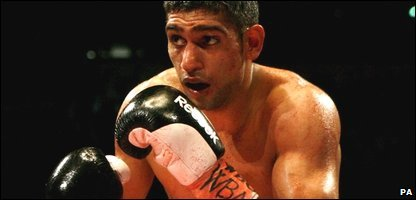Amir Khan (Photo by Peter Byrne/PA Wire)