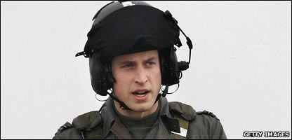 Prince William training with the RAF