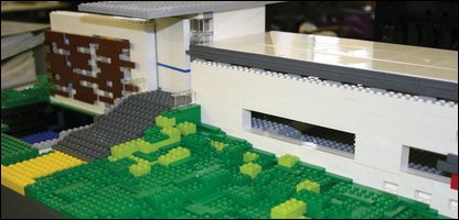 The lego building by Gareth Hoskins architects