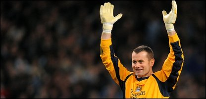 Manchester City goalie Shay Given