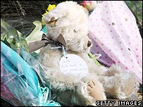 Teddy tribute to Jade