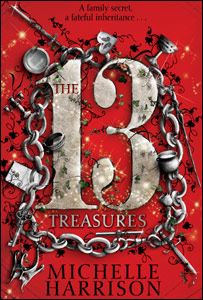 The 13 Treasures book cover