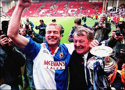 Alan Shearer at Blackburn Rovers