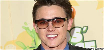 Singer Jesse McCartney