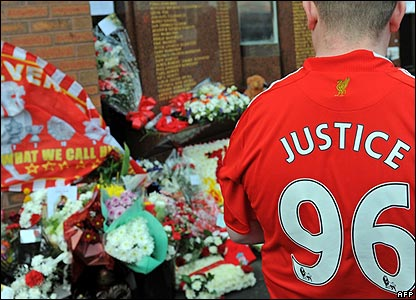 A fan at Anfield