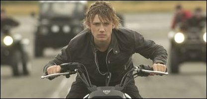 Alex Rider used spy gadgets in Stormbreaker
