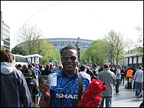 Ore outside Wembley