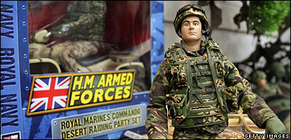 Armed forces dolls