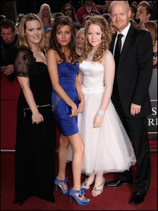 Jake Wood, Madeline Duggan, Lorna Fitzgerald and Jo Joyner at the British Soap Awards