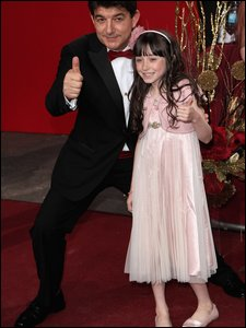 John Altman and Molly Conlin at the British Soap Awards