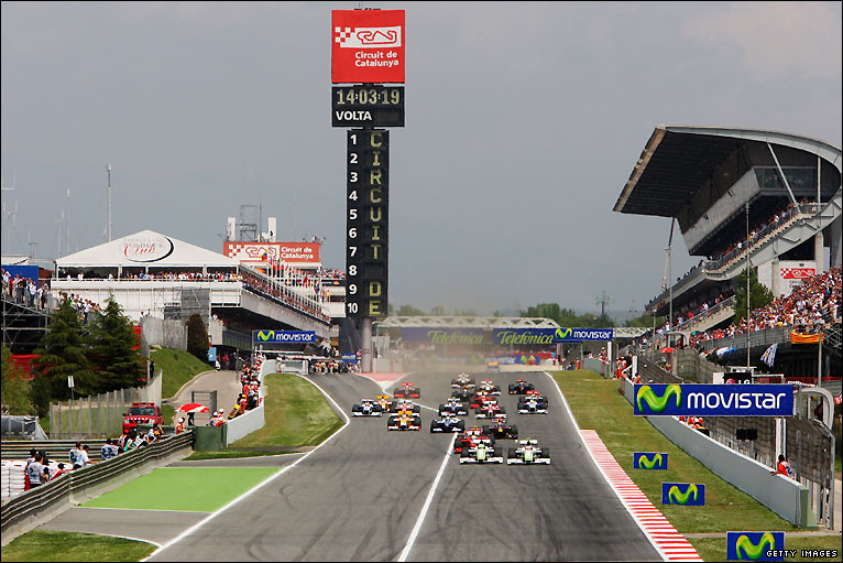 bbc sport motorsport formula 1 spanish grand prix photos. Black Bedroom Furniture Sets. Home Design Ideas