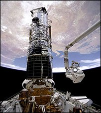 Hubble servicing (Nasa)
