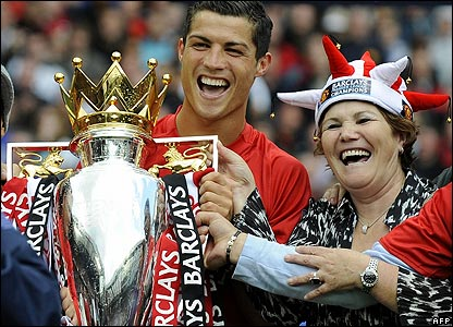 Ronaldo and his mum