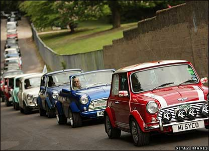 The 50th anniversary of the London To Brighton Mini Run