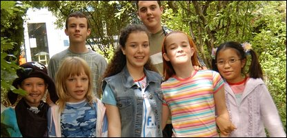 The cast of Tracy Beaker