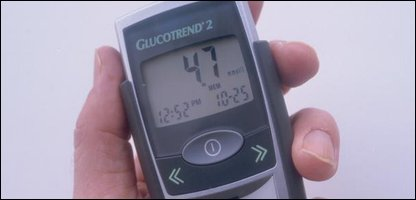 Measuring blood sugar levels