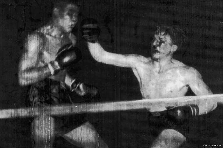 BBC Sport - Wales' boxing history in photos