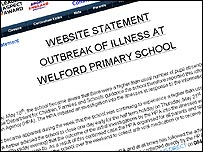 Statement from the Welford Primary School website