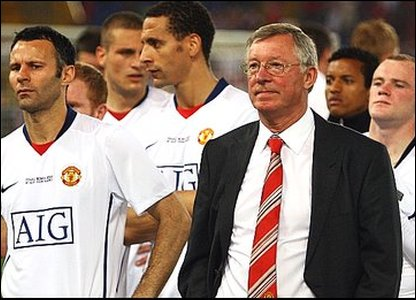 Man United players are disappointed. But boss Sir Alex Ferguson admitted his team weren't in their best form.