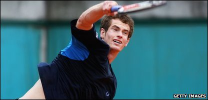 Andy Murray in French Open
