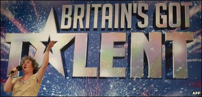 Britain's Got Talent finalist Susan Boyle