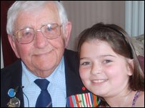 Lily and her Grandad