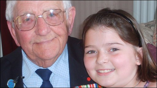 Lily and her granddad