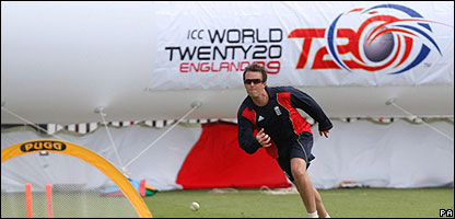 Twenty20 World Cup training