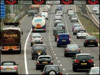 Traffic in the UK