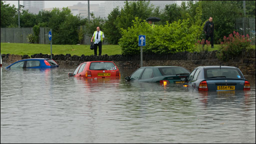 Floods in Sheffield (Courtesy of Dominic Garvey)