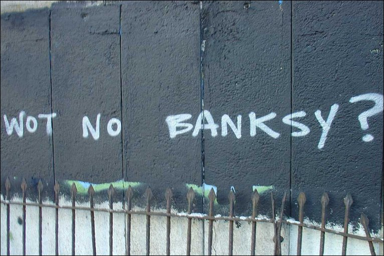 Bbc bristol in pictures banksy 39 s bristol for Banksy mural painted over