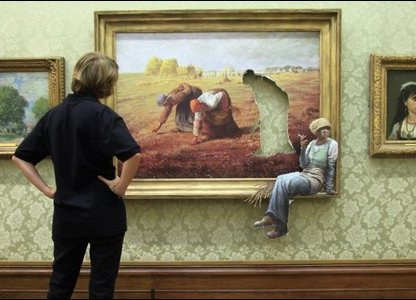 Banksy painting