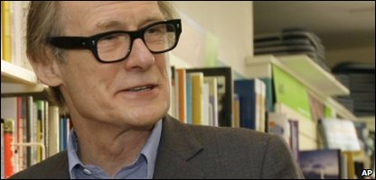 Bill Nighy, who'll be playing the role of minister of magic Rufus Scrimgeour