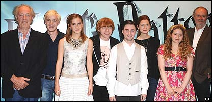 The stars of Harry Potter