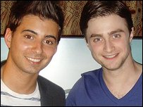 Ricky and Daniel Radcliffe