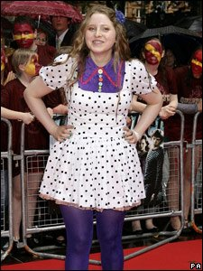 Jessie Cave at the world premiere of Harry Potter and the Half-Blood Prince