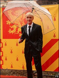 Tom Felton, who plays Draco Malfoy, at the world premiere of Harry Potter and the Half-Blood Prince