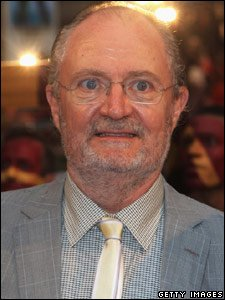 Jim Broadbent, who plays Professor Slughorn, at the world premiere of Harry Potter and the Half-Blood Prince