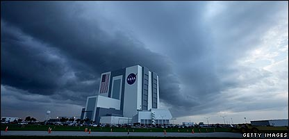 Nasa's press centre in Florida