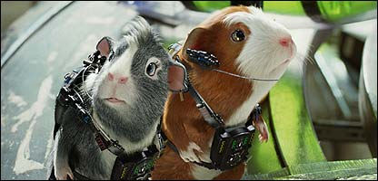 Guinea pig stars in G Force
