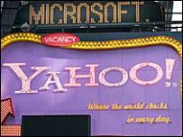 microsoft yahoo