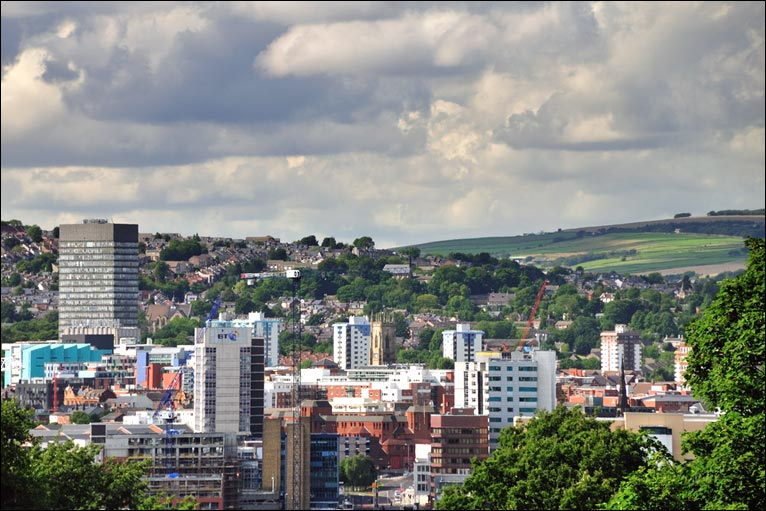 Sheffield city centre for The sheffield