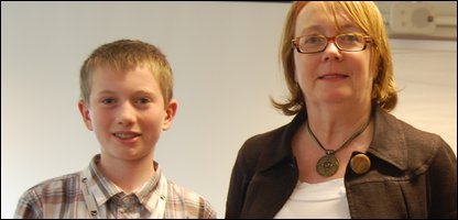 Press Packer Samuel and Bridget Prentice from the Ministry of Justice who he interviewed