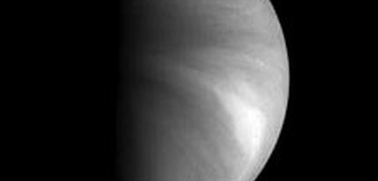 The feature can be seen in the bottom right of this picture Venus (Esa/MPS)