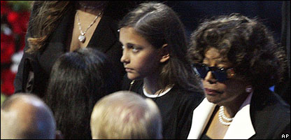 Katherine and Paris Jackson