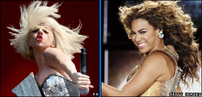 Lady Gaga and Beyonce