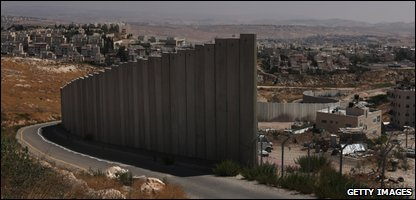 Part of Israel's West Bank barrier