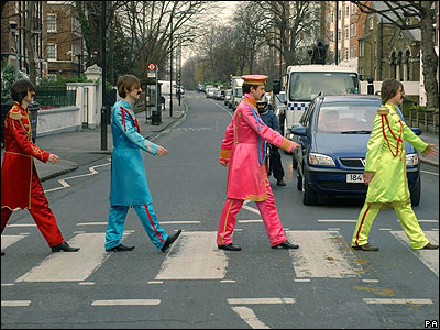 As did these Beatles lookalikes!