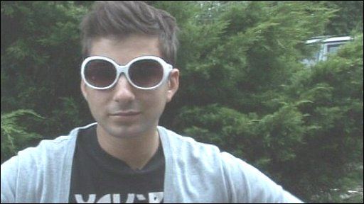 Ricky in sunglasses